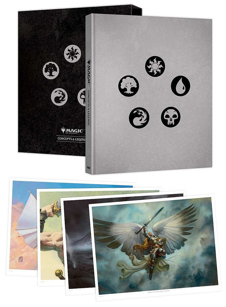 The Art of Magic: The Gathering: Concepts & Legends - 3