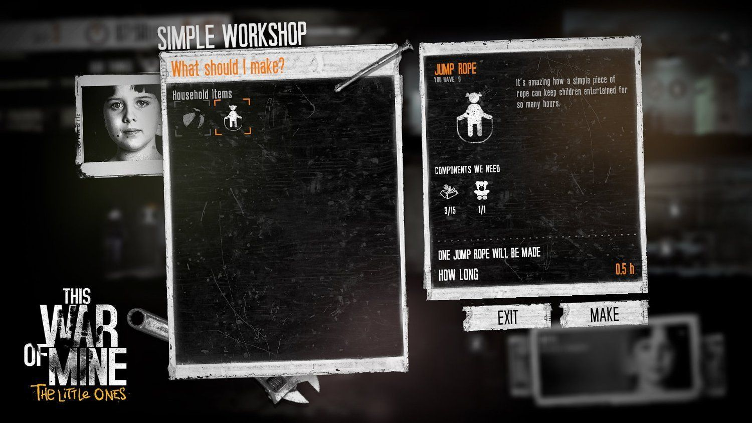 This War Of Mine: The Little Ones (PS4) - 5