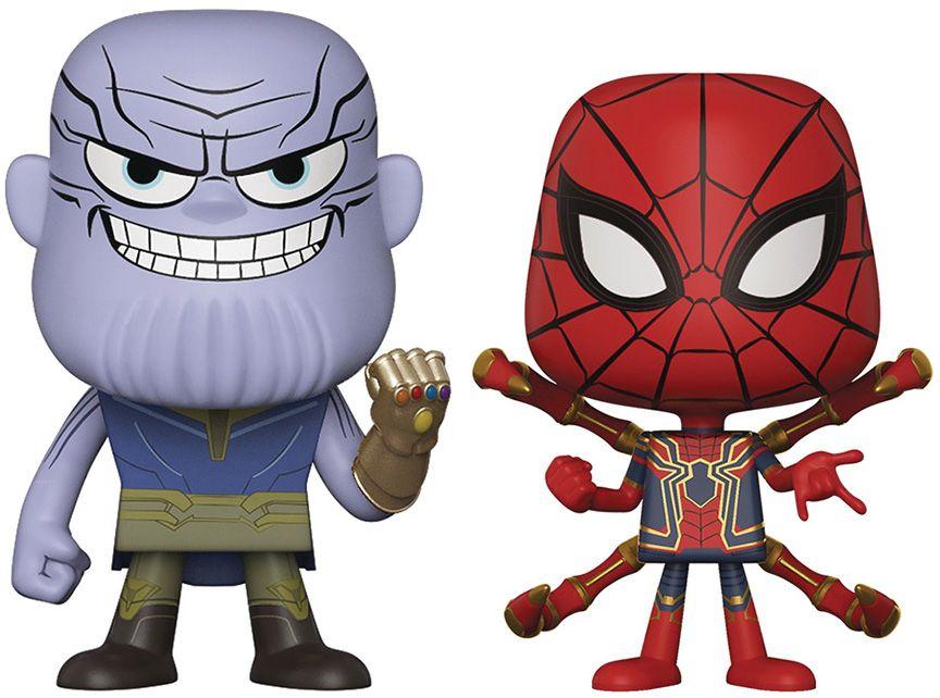 Фигури Funko Pop!: Marvel - Avengers: Infinity War - Thanos & Iron Spider (2 pack) - 1