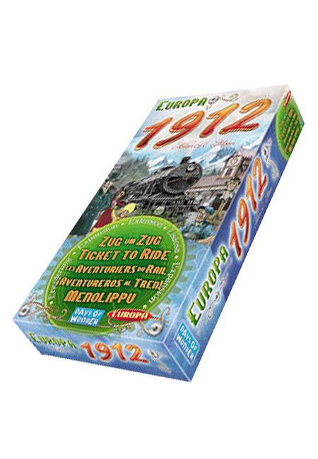 Разширение за настолна игра Ticket to Ride Europa 1912 expansion - 1