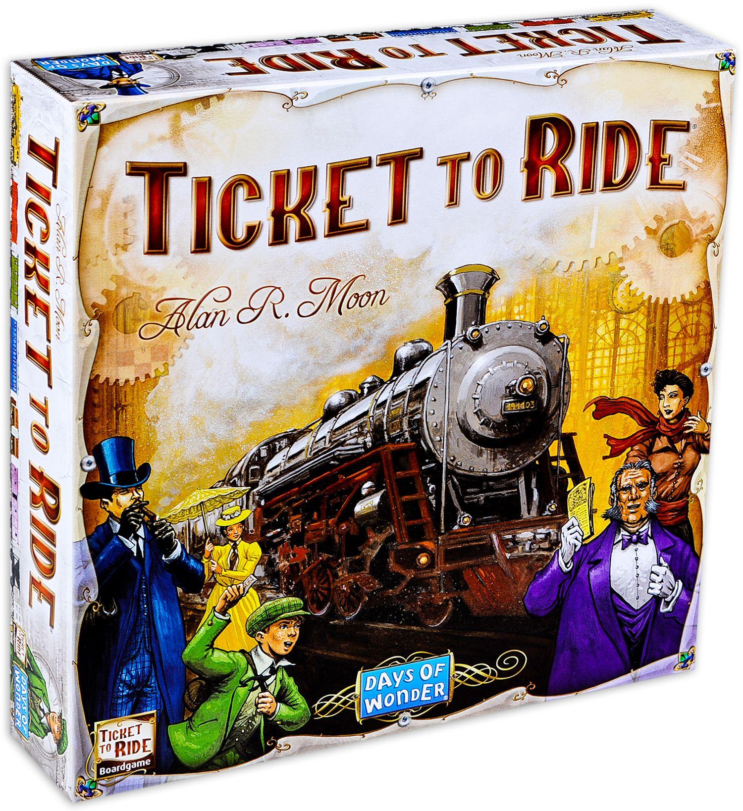 Настолна игра Ticket to Ride - 1