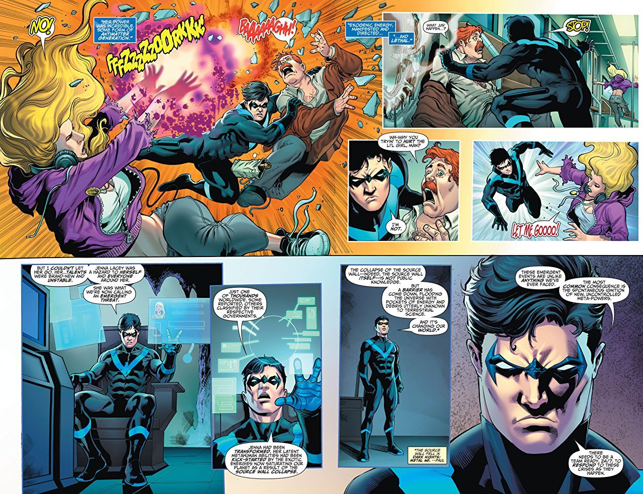 Titans, Vol. 5: The Spark-3 - 4