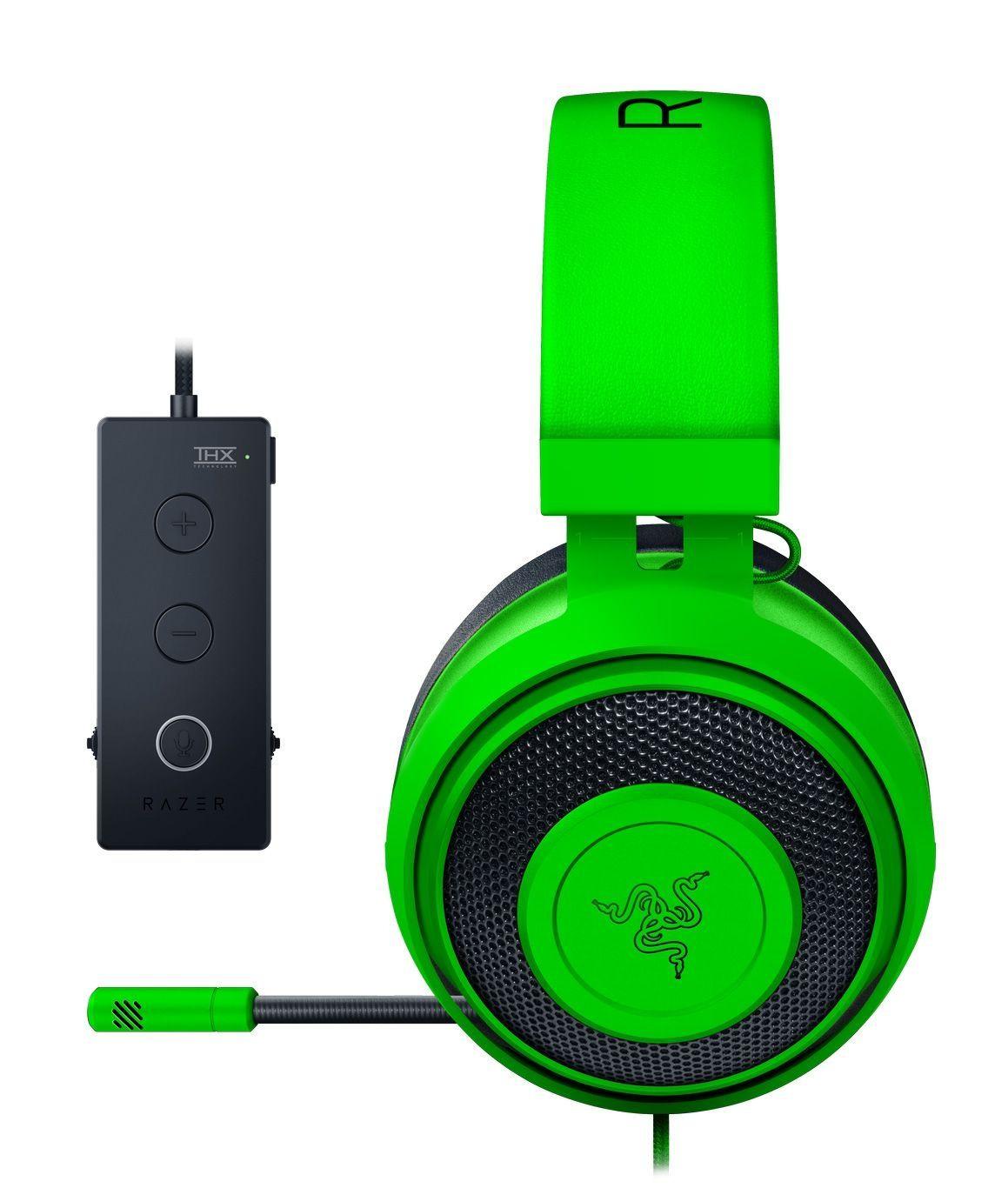 Гейминг слушалки Razer Kraken Tournament Edition - Green - 2