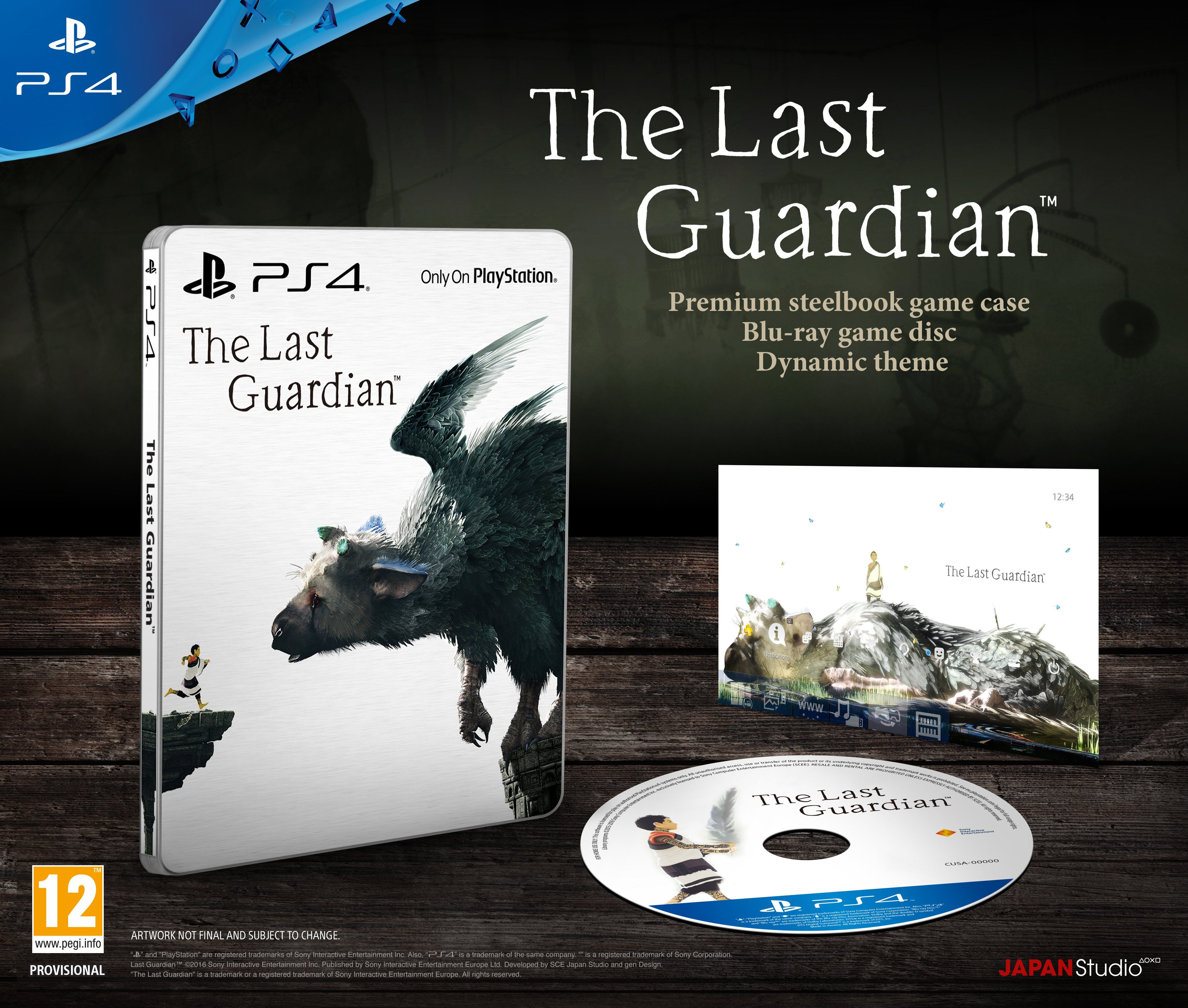 The Last Guardian Limited Edition (PS4) - 5