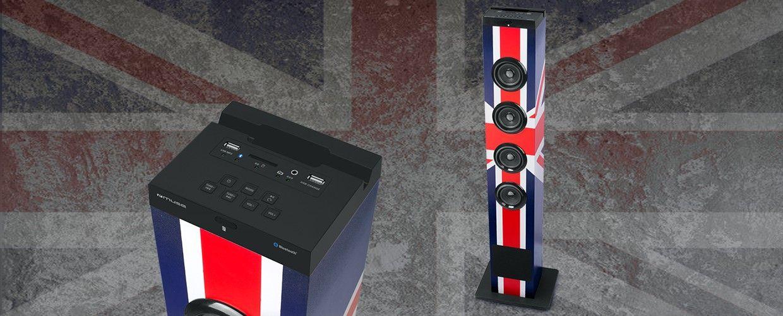 Колонка Muse M-1200 BTK Tower - USB/SD - 2