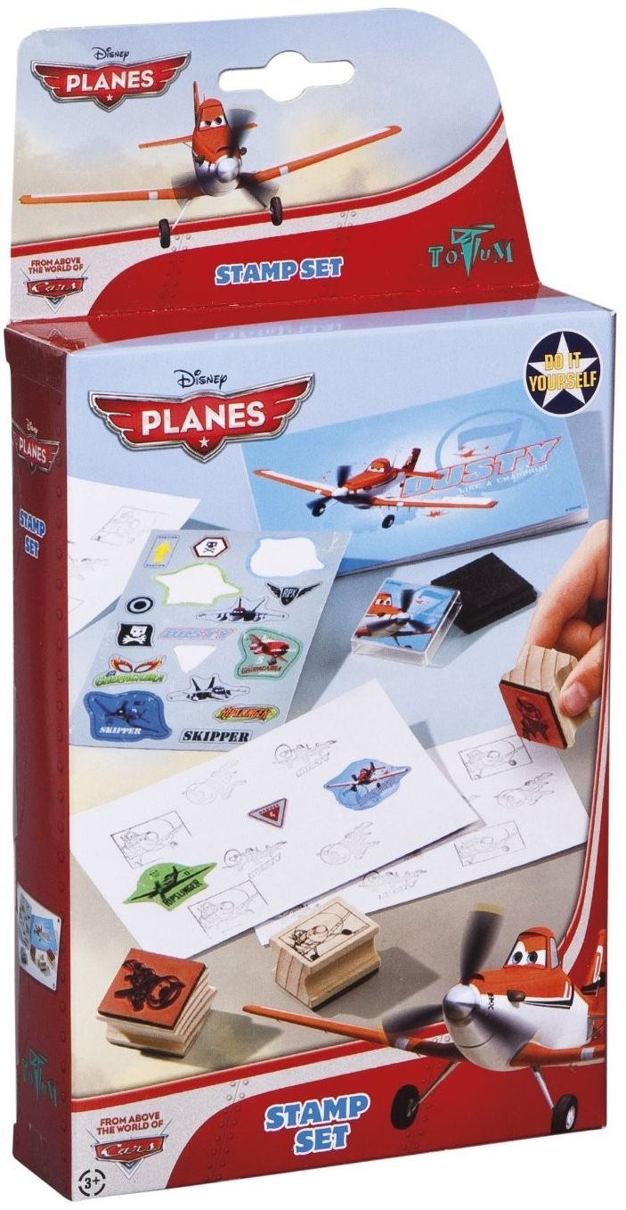 Творчески комплект Totum Planes - Печати със Самолетите - 1