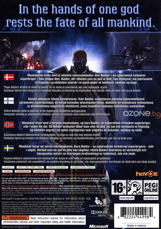 Too Human (Xbox 360) - 3