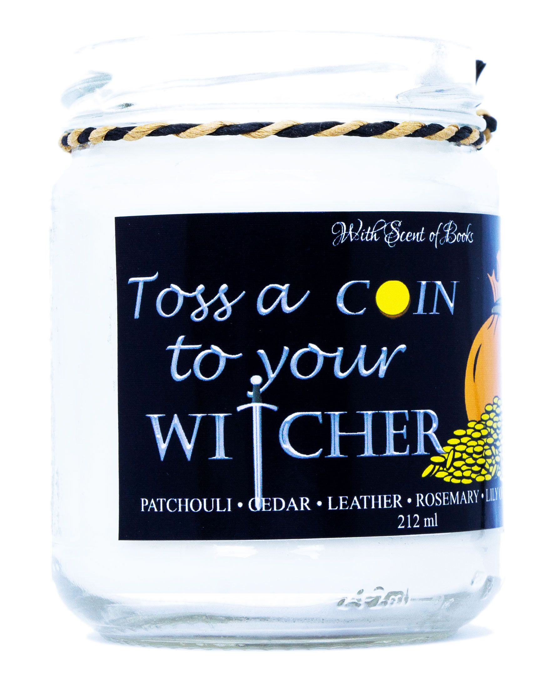 Ароматна свещ The Witcher - Toss a Coin to Your Witcher, 212 ml - 3