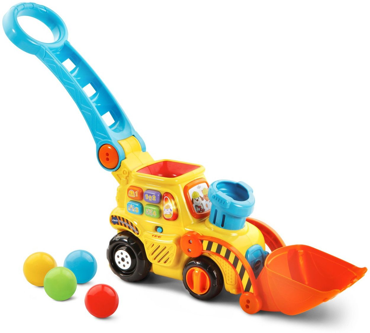 Занимателна играчка Vtech - Изстрелващи топчета - 1