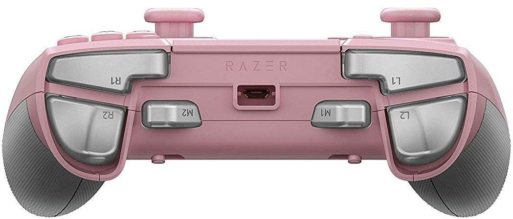 Контролер Razer Raiju Tournament Edition - Quartz, розов - 3