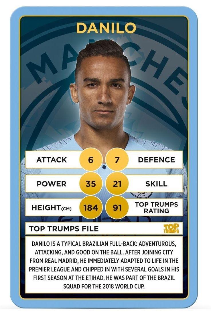 Игра с карти Top Trumps - Manchester City FC - 3