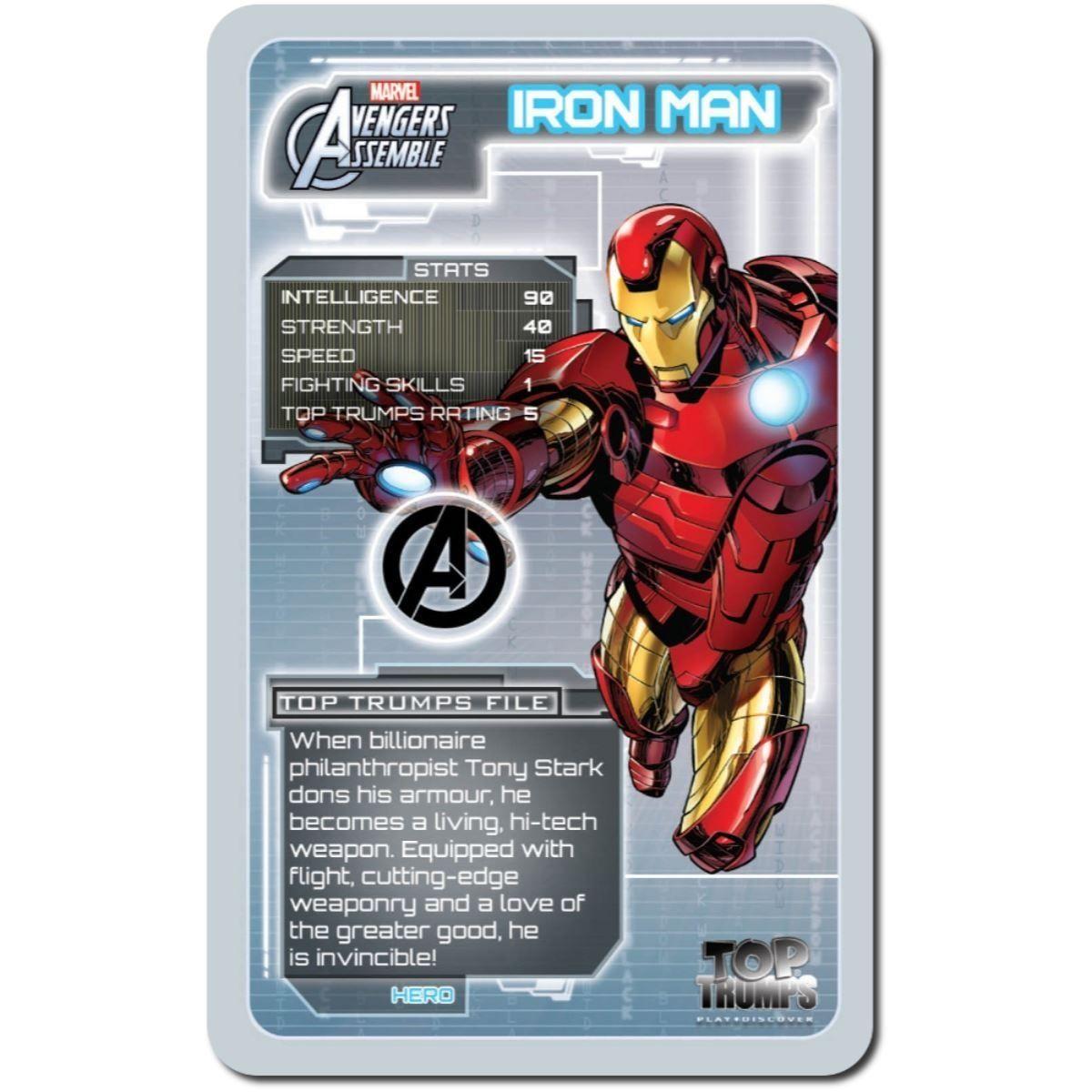Игра с карти Top Trumps - Avengers - 3