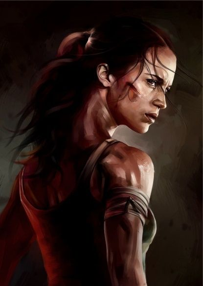 Метален постер Displate - Tomb Raider - 1