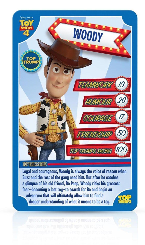 Игра с карти Top Trumps - Toy Story 4 - 2