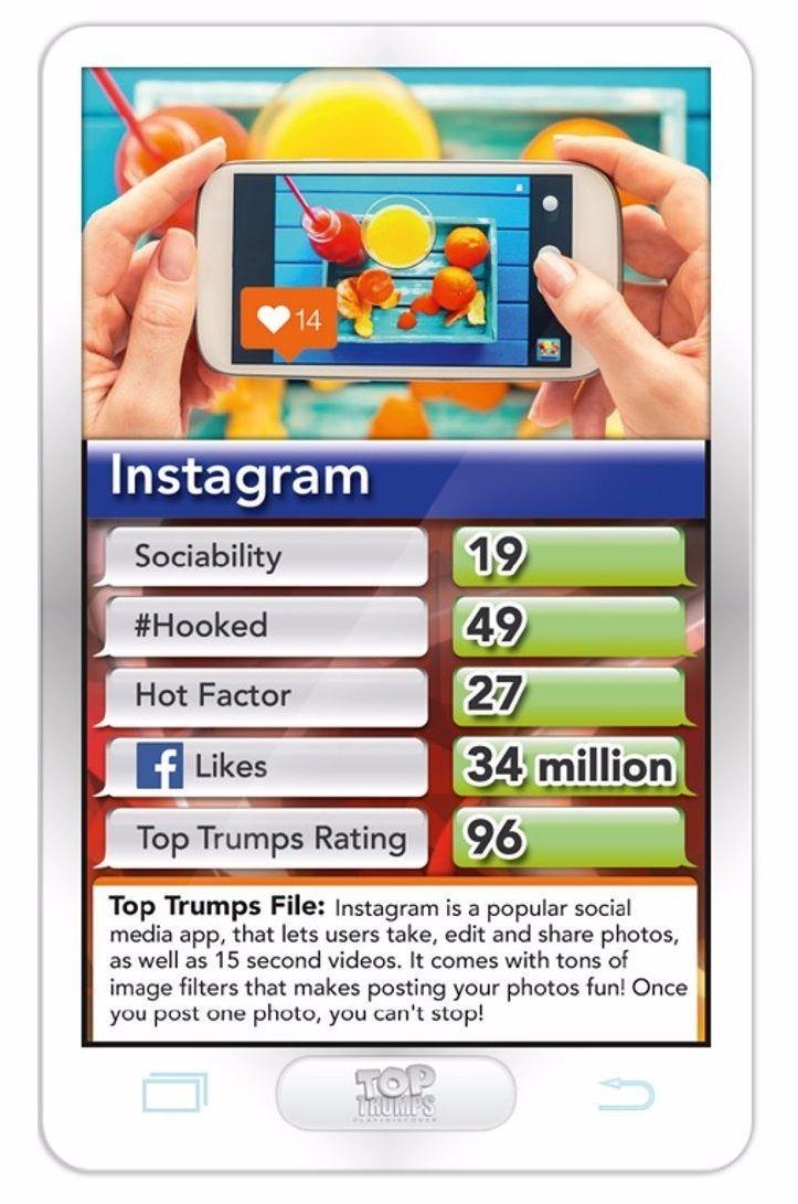 Игра с карти Top Trumps - Hottest Top 30 Apps - 3