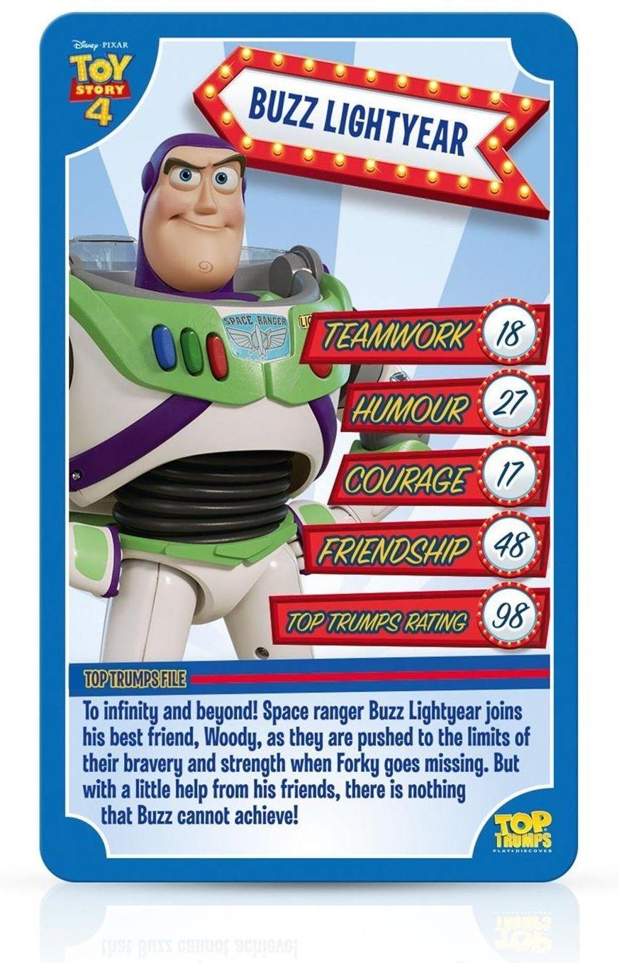Игра с карти Top Trumps - Toy Story 4 - 3
