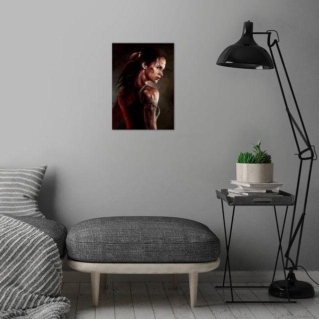 Метален постер Displate - Tomb Raider - 4