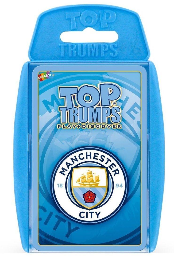 Игра с карти Top Trumps - Manchester City FC - 1