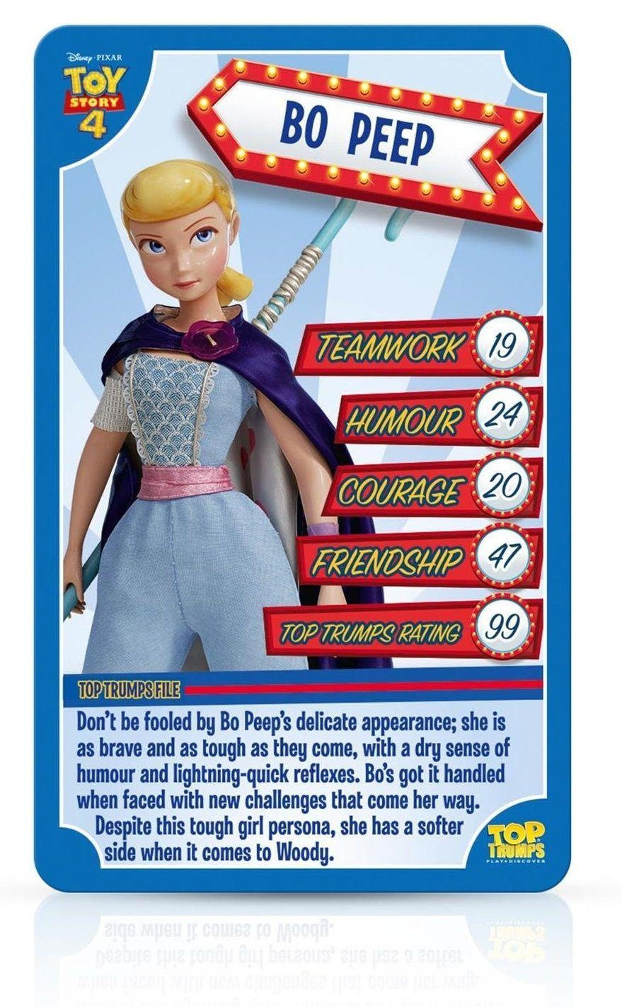 Игра с карти Top Trumps - Toy Story 4 - 4