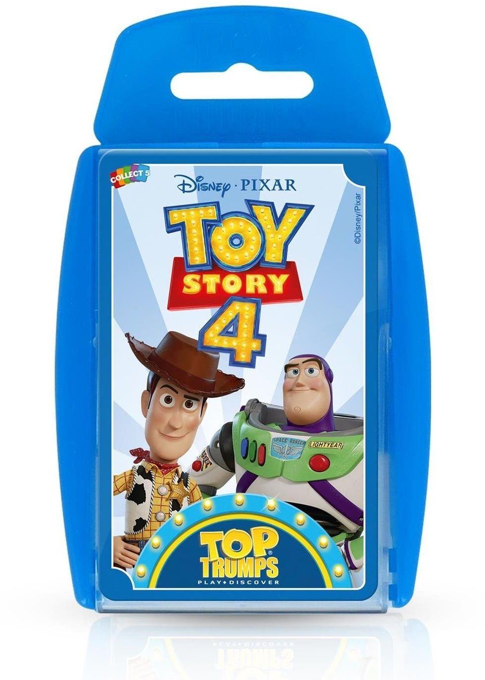 Игра с карти Top Trumps - Toy Story 4 - 1