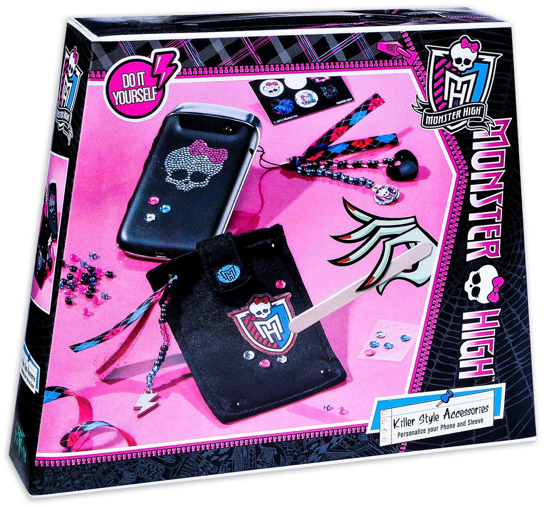 Творчески комплект Totum Monster High - Декорирай сам, Аксесоар за телефон - 1