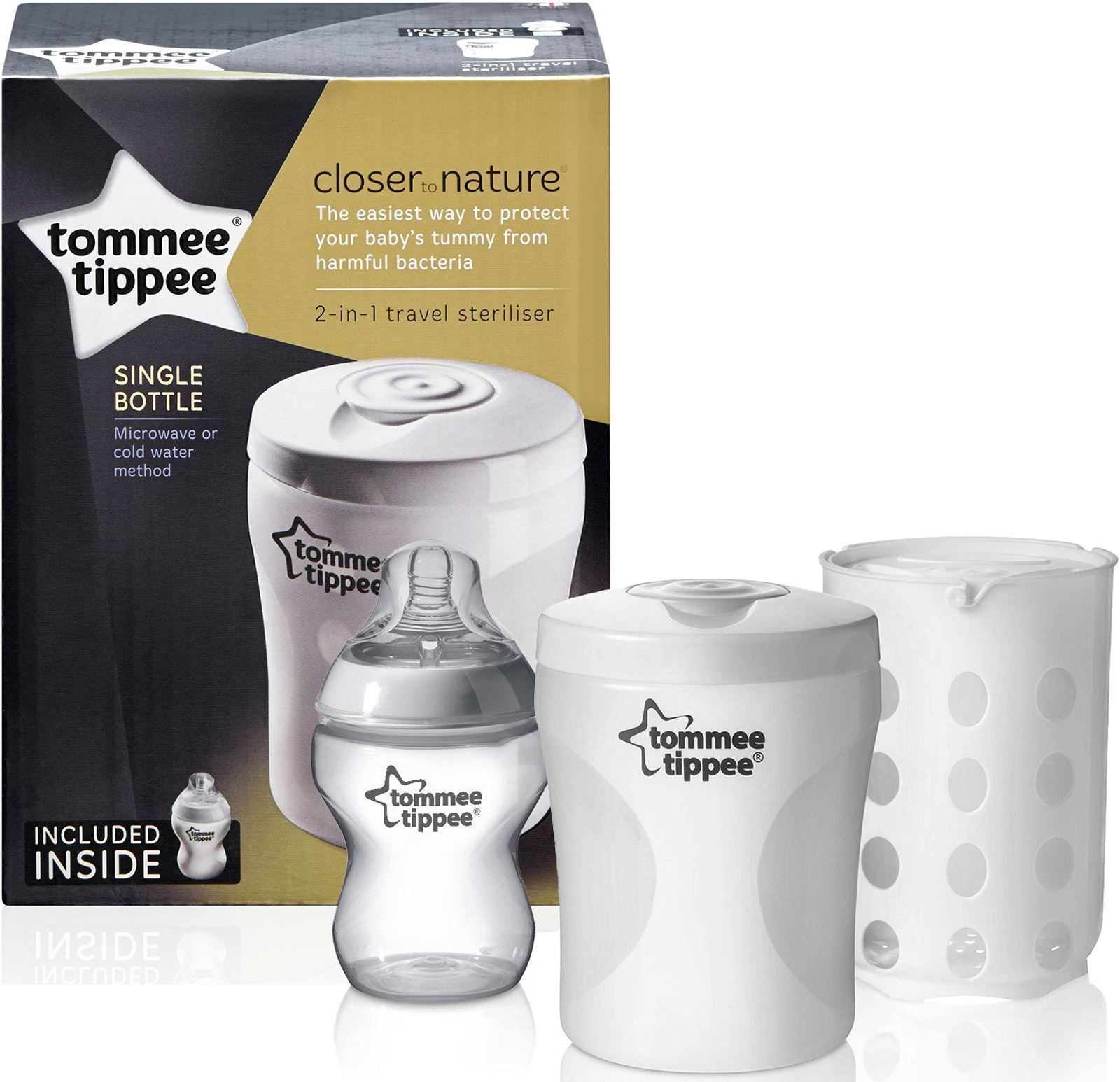 Стерилизатор Tommee Tippee - Closer to Nature, за едно шише - 2