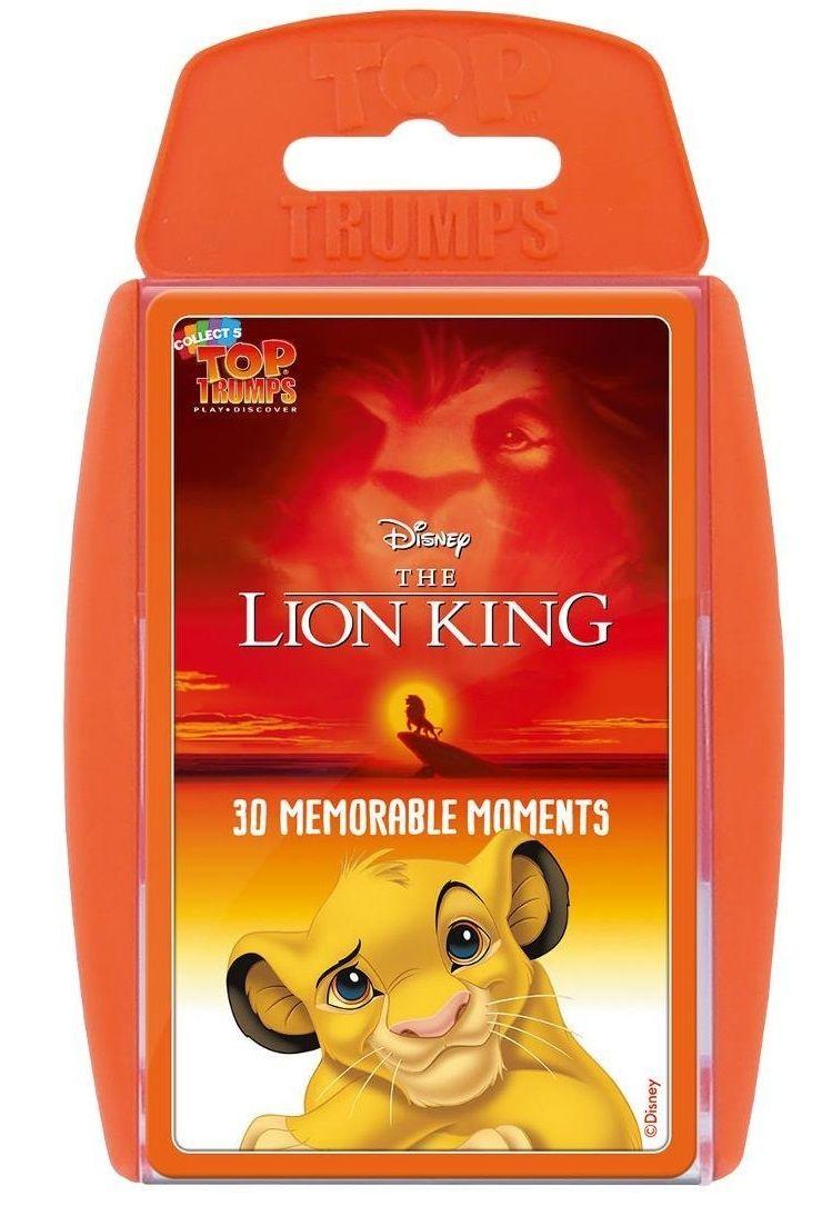 Игра с карти Top Trumps - Lion King - 1