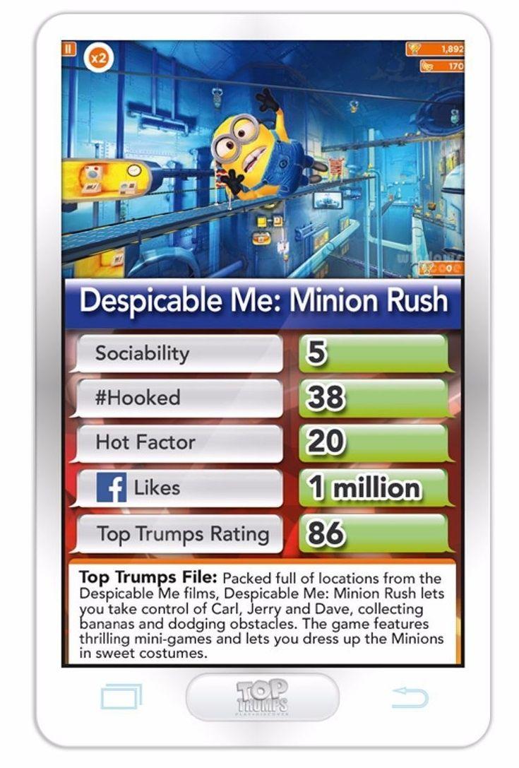 Игра с карти Top Trumps - Hottest Top 30 Apps - 4