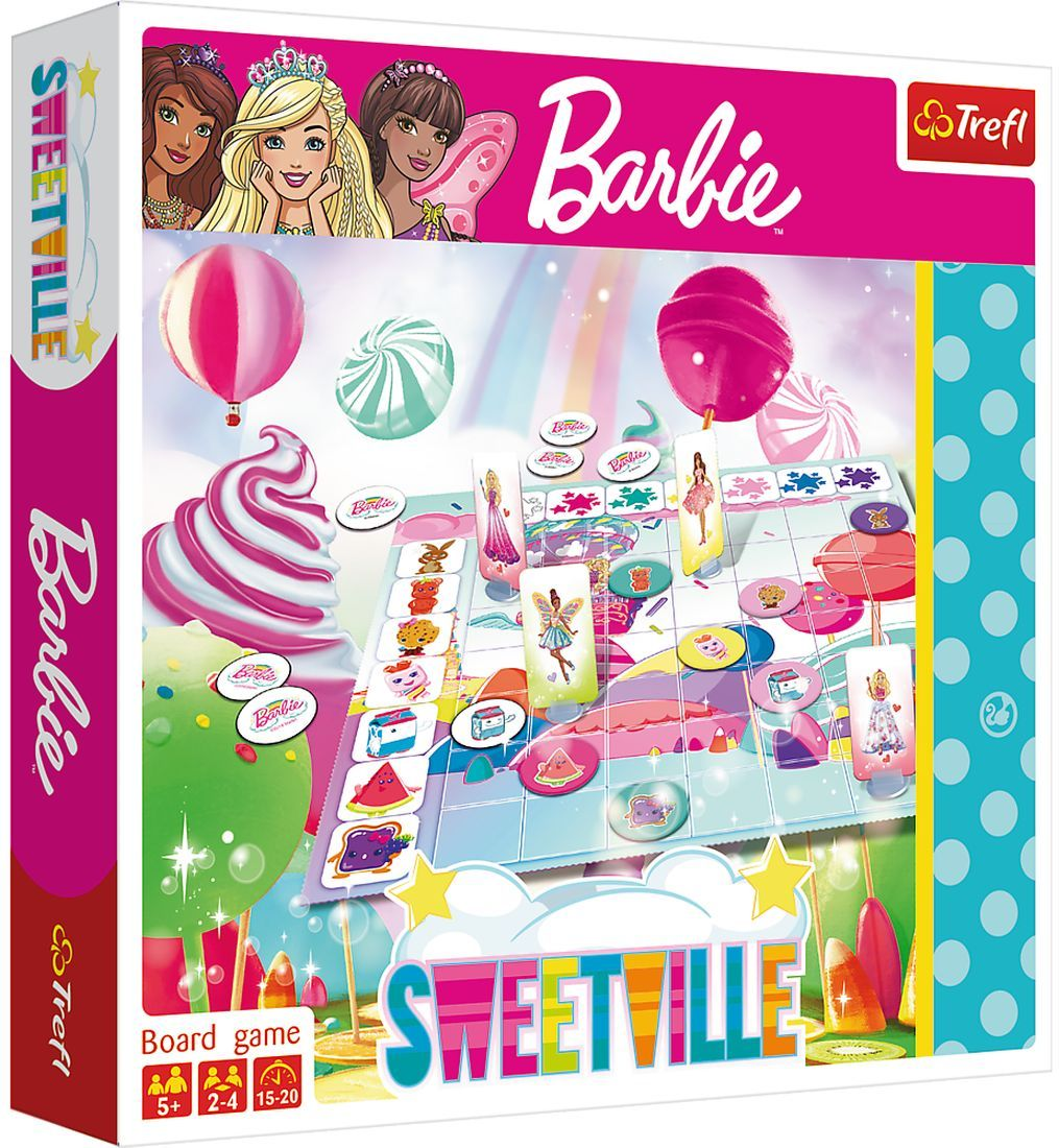 Детска игра Trefl Barbie - Сладкото кралство - 1
