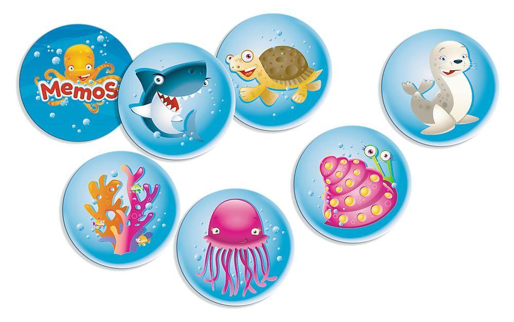 Детска мемо игра Trefl - Морски свят - 2