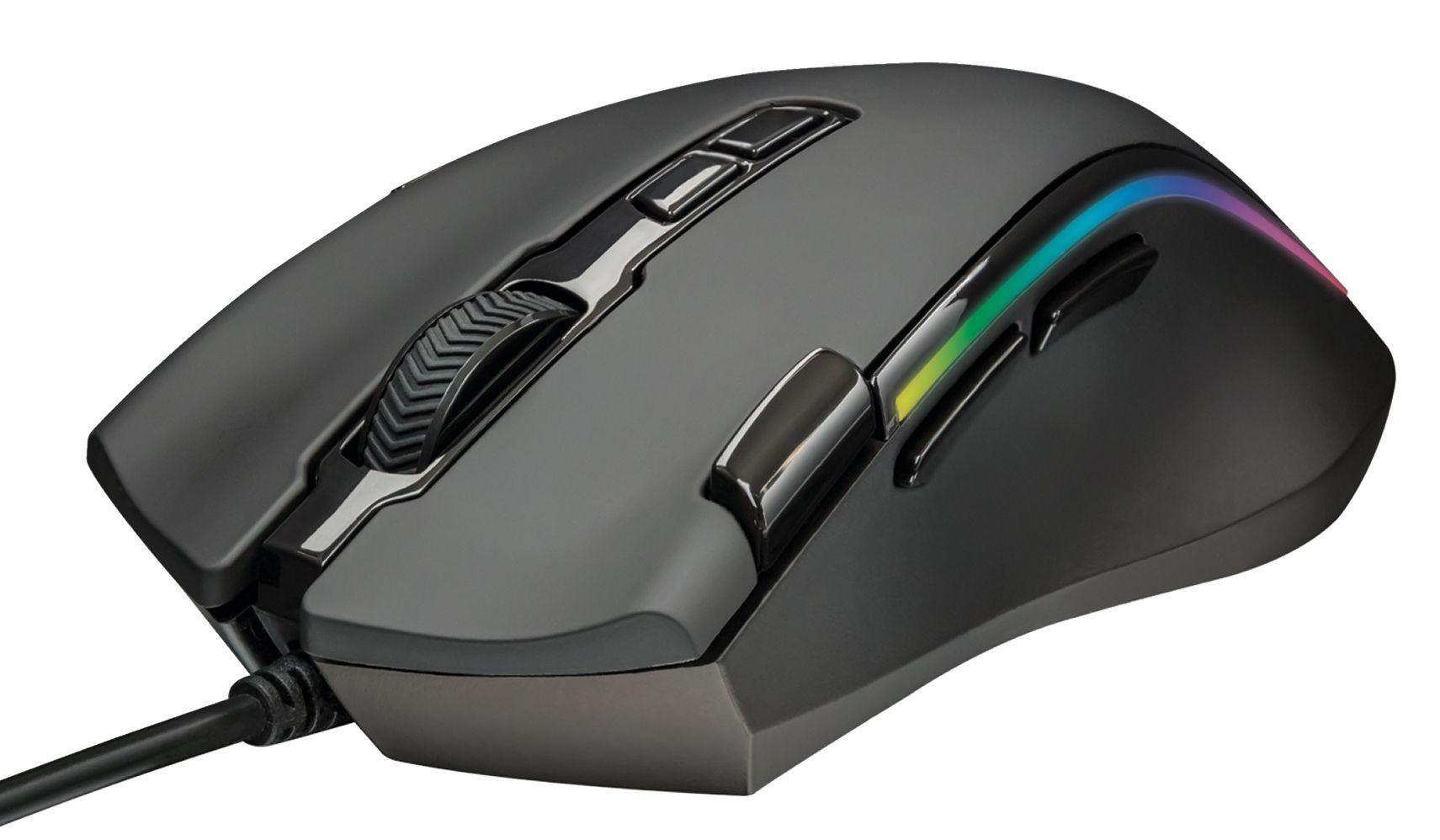 Мишка ТRUST GXT 188 Laban RGB Mouse - 3