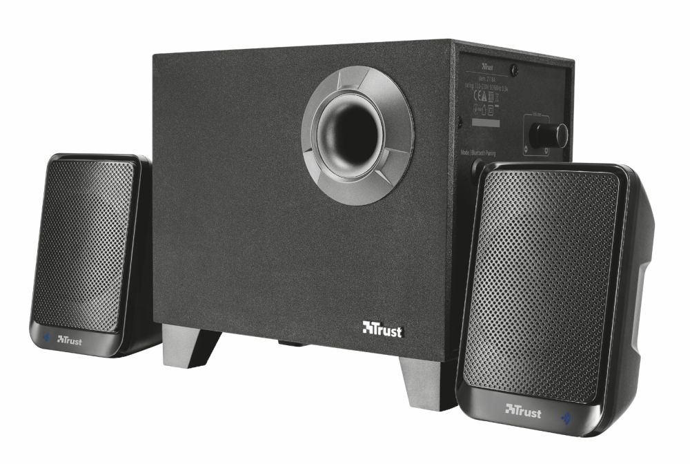 Тонколони TRUST Evon Wireless 2.1 Speaker Set with Bluetooth - 1