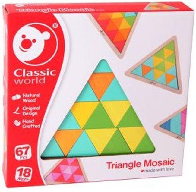 Дървена мозайка Classic World – Триъгълник - 3