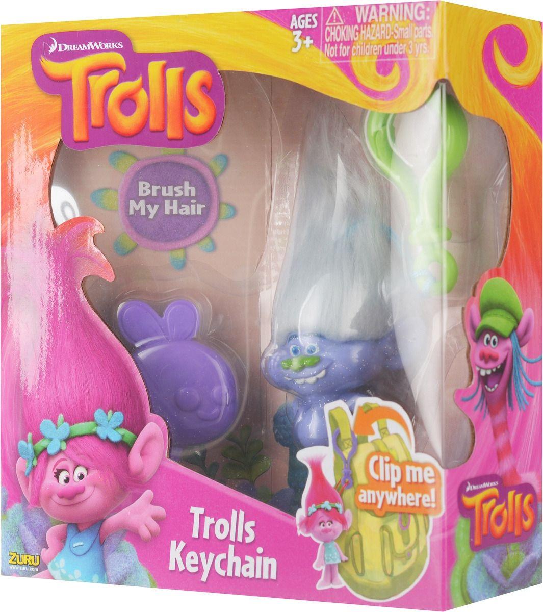 Ключодържател Zuru - Trolls, асортимент - 8