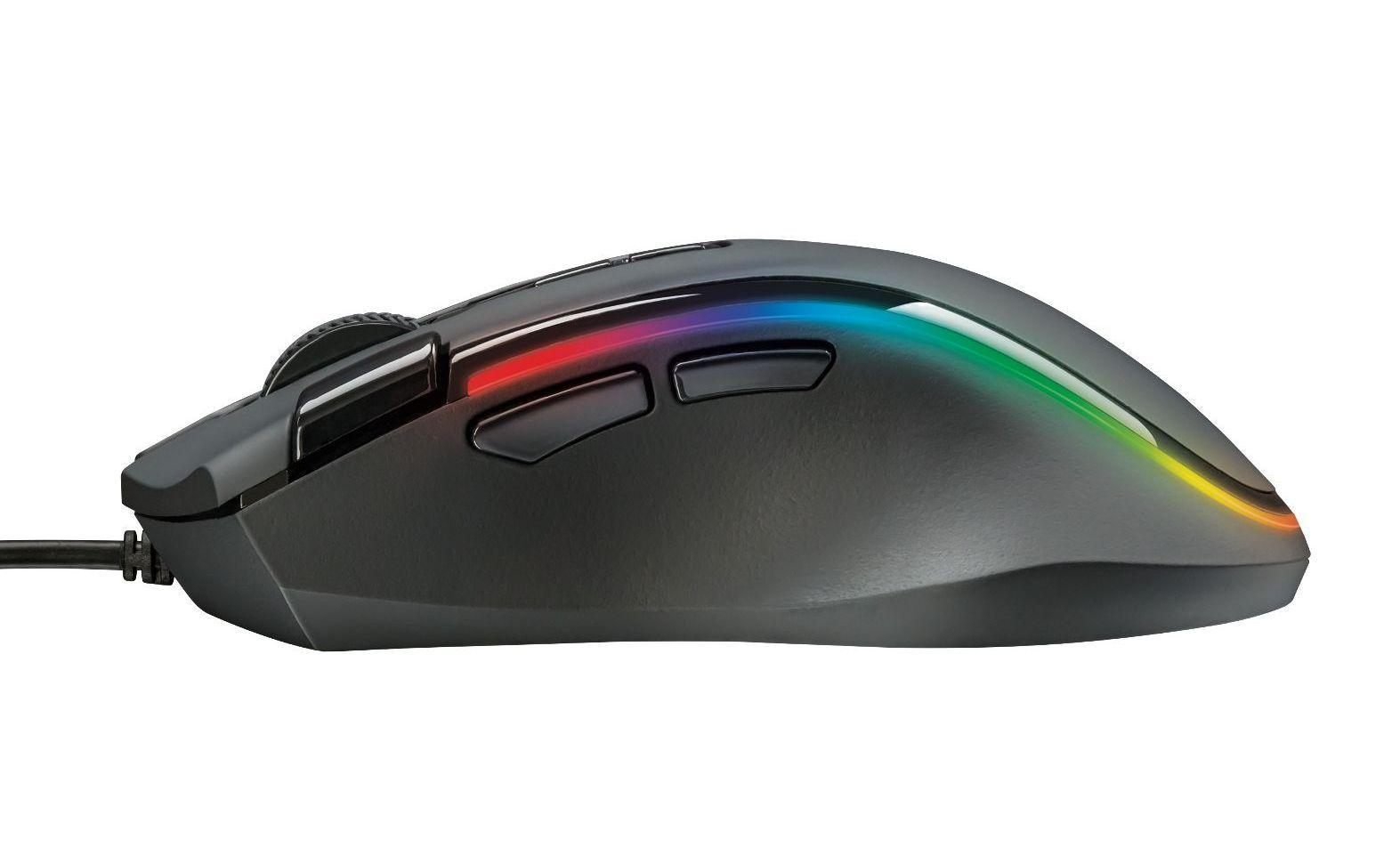 Мишка ТRUST GXT 188 Laban RGB Mouse - 4