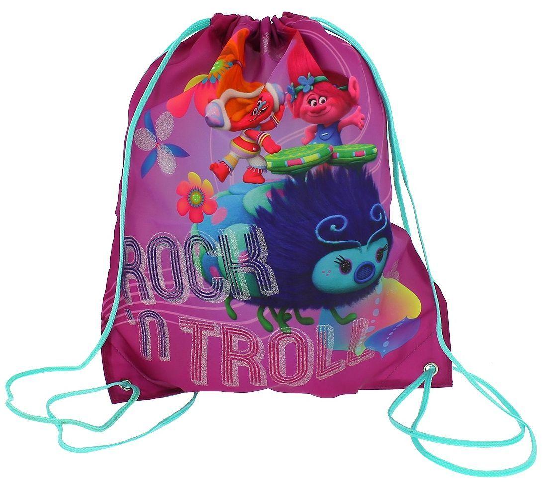 Спортен сак с връзки Trolls Trainer Bag - 1