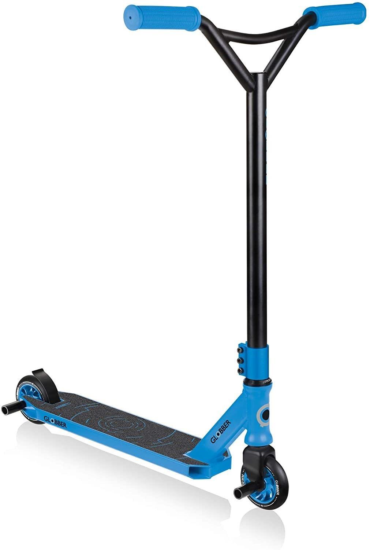 Тротинетка Globber - Stunt Scooter GS 540, Черно/ Синя - 1