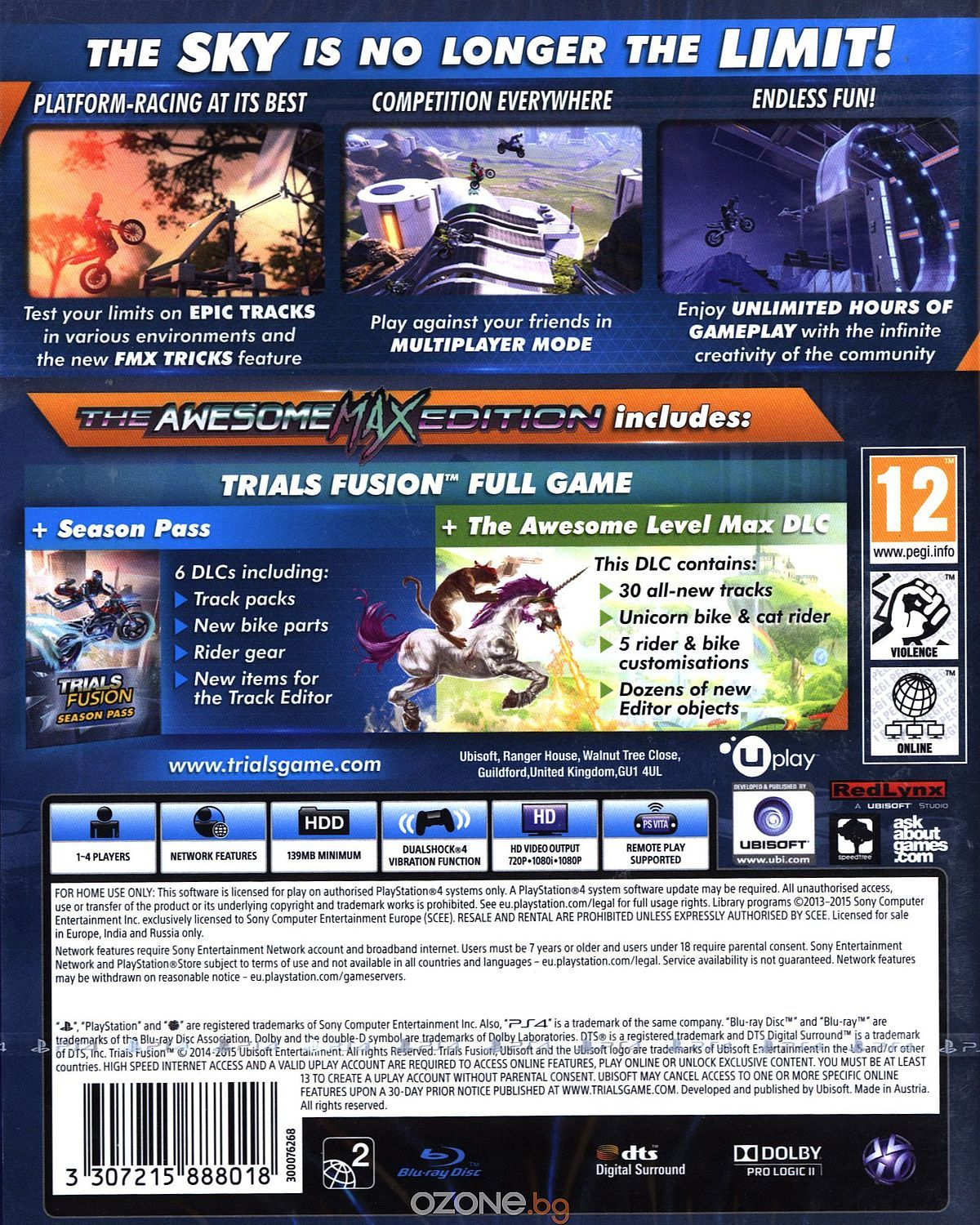Trials Fusion The Awesome Max Edition (PS4) - 13