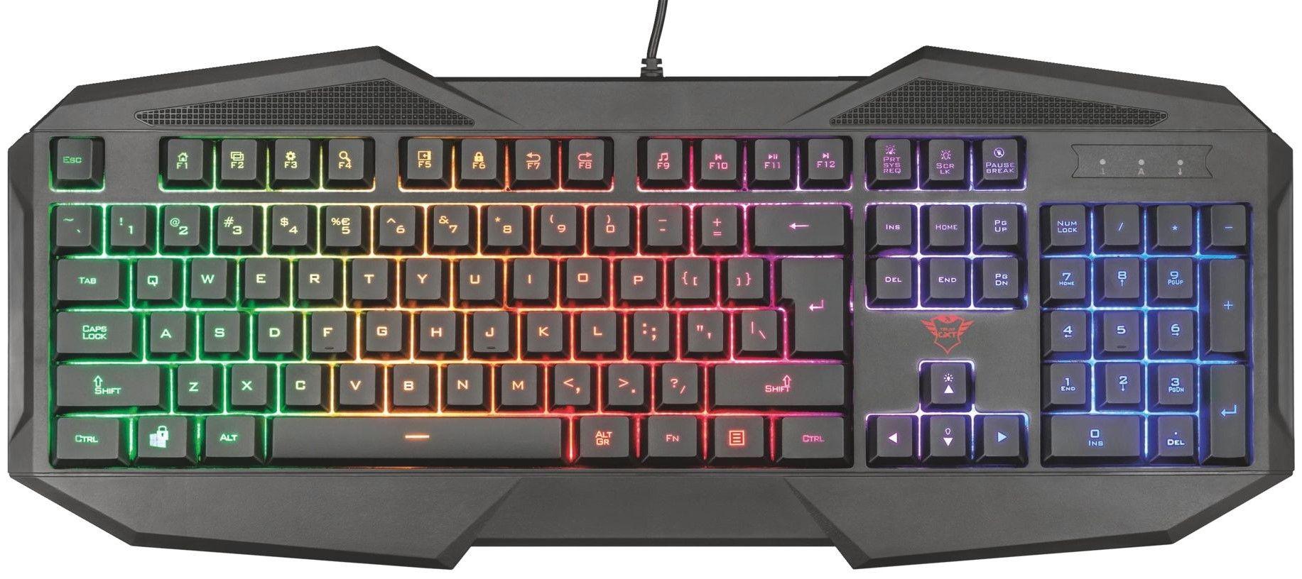 Гейминг клавиатура Trust GXT 830-RW Avonn - 1