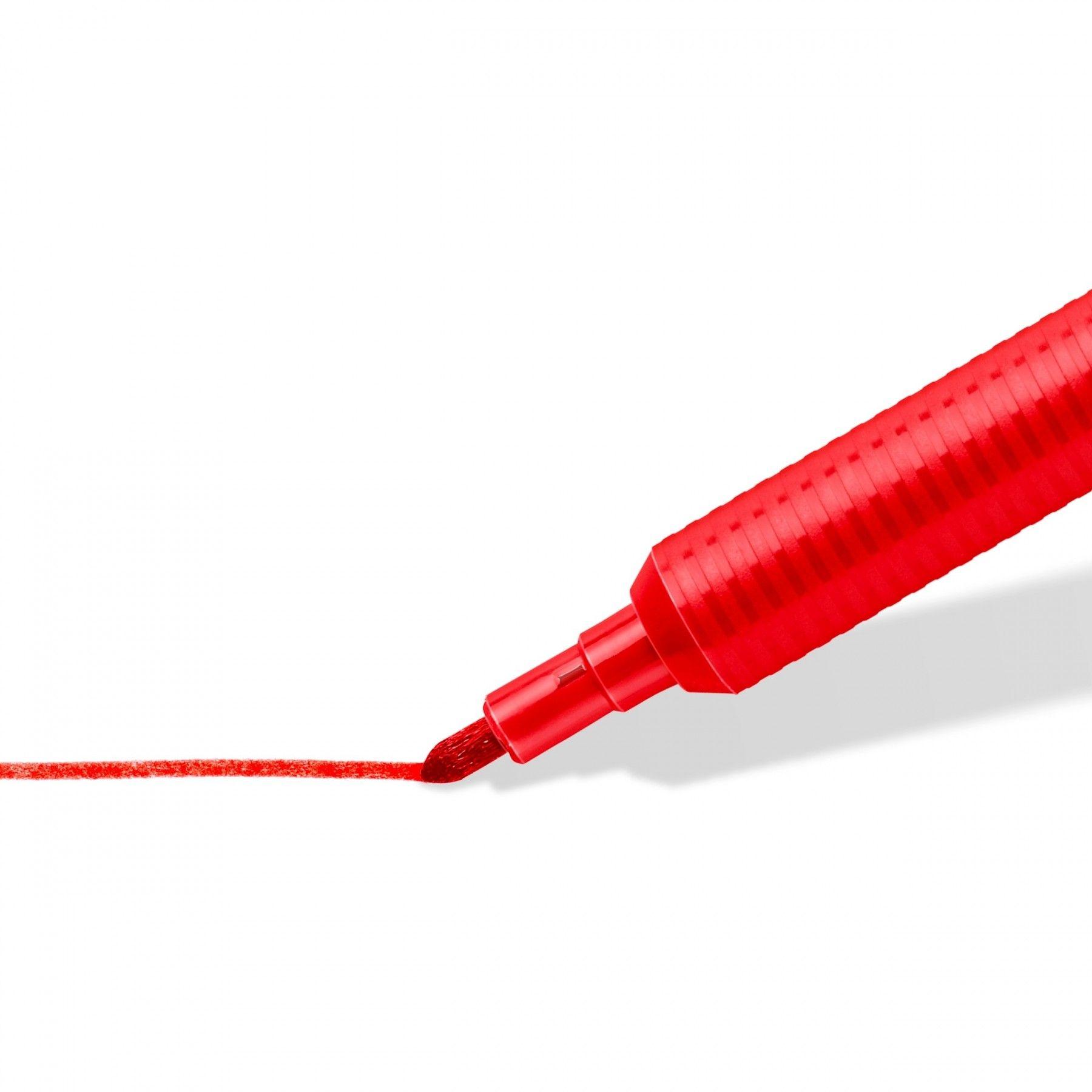 Цветни флумастери Staedtler 325 - 24 цвята, изпиращо се мастило - 2