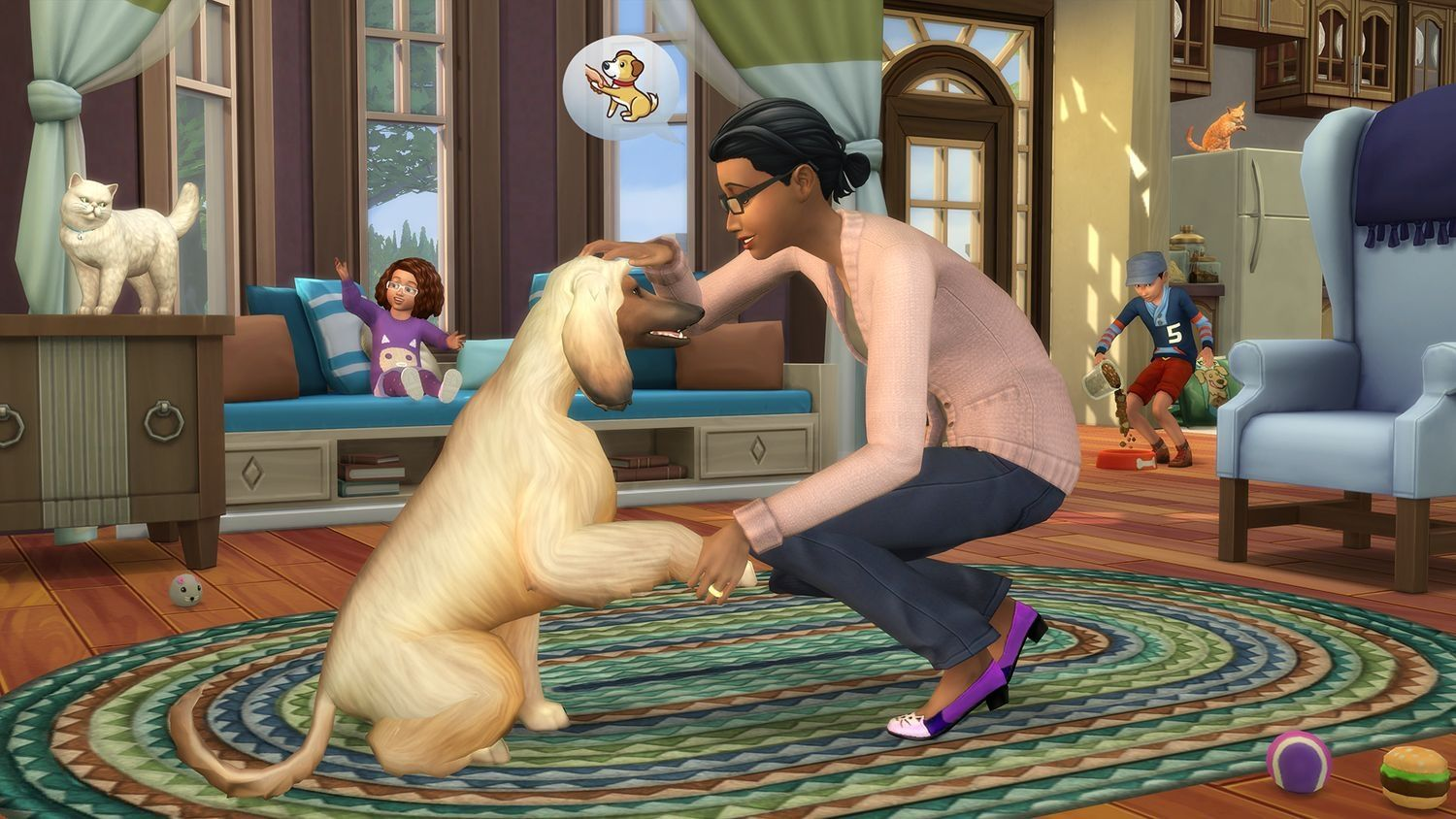 The Sims 4 + Cats & Dogs Expansion Pack Bundle (Xbox One) - 10