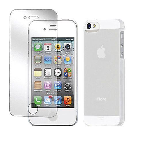 Tunewear Eggshell за iPhone 5 -  бял - 3