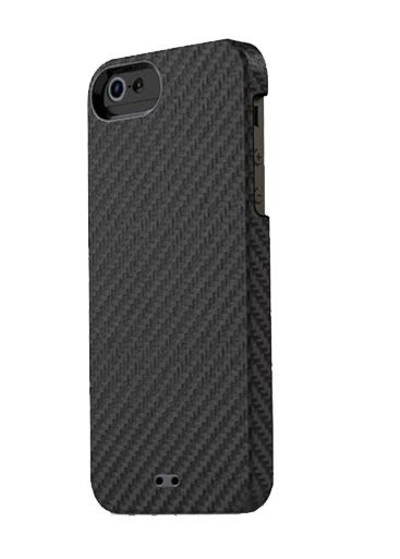 Калъф Tunewear Carbonlook за iPhone 5, Iphone 5s -  черен - 1