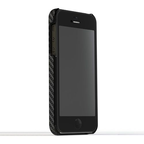 Калъф Tunewear Carbonlook за iPhone 5, Iphone 5s -  черен - 2