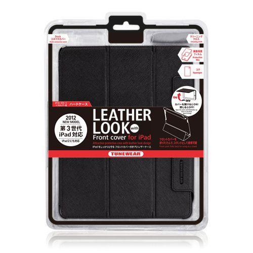 Tunewear LeatherLook - черен - 15
