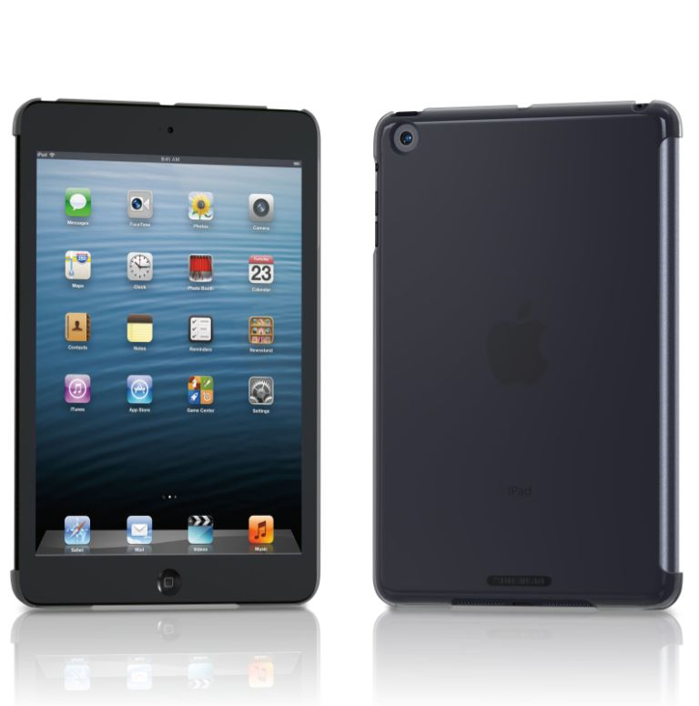 Tunewear Eggshell за iPad mini - черен - 1