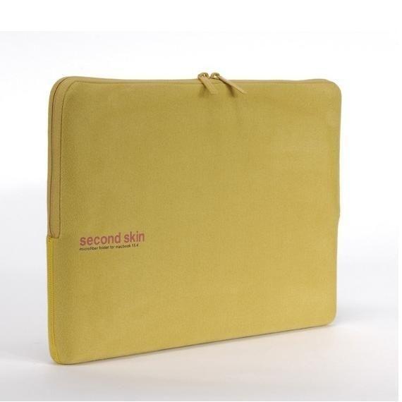 Tucano Second Skin Microfiber 15.4 инча - жълт - 2