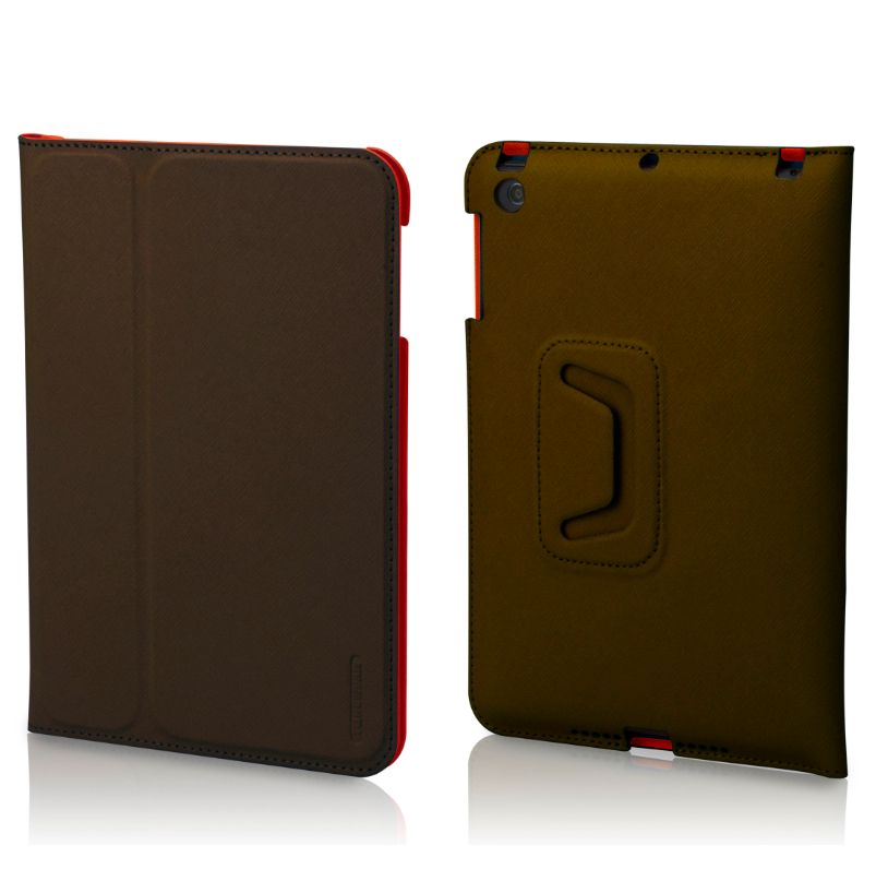 Tunewear LeatherLook Frontcover - тъмнокафяв - 1