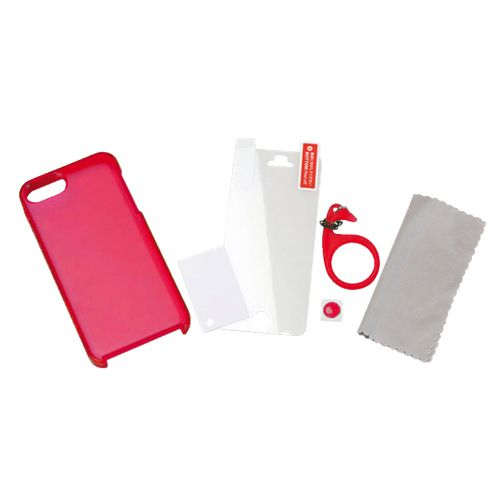 Tunewear Softshell за iPhone 5 -  червен - 2