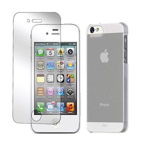 Tunewear Eggshell за iPhone 5 -  прозрачен - 3